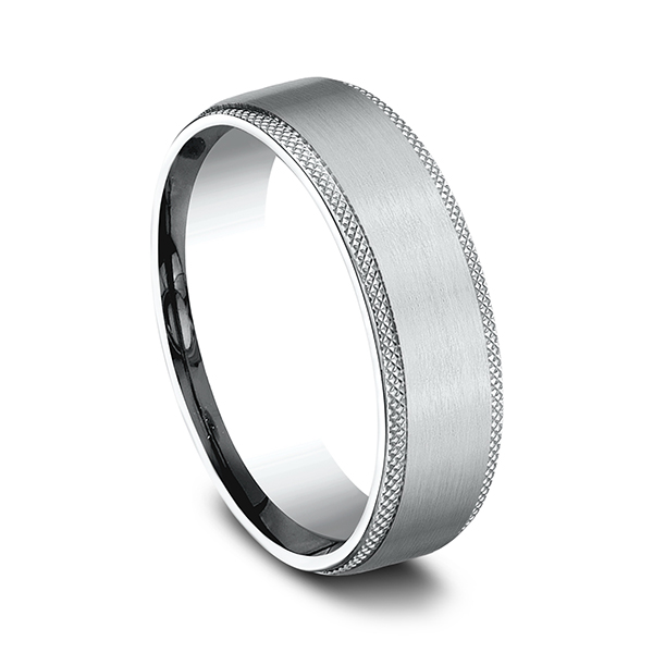 Wedding Bands - Comfort-Fit Design Wedding Band - image #2