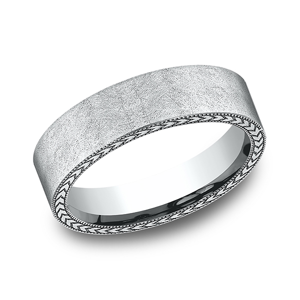 Rings - Comfort-Fit Design Wedding Band