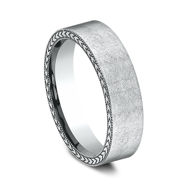 Rings - Comfort-Fit Design Wedding Band - image 2