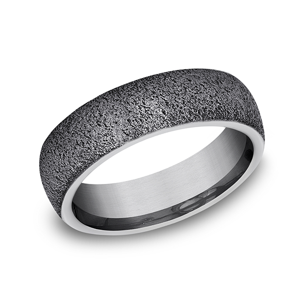 Tantalum Comfort-fit wedding band by Tantalum