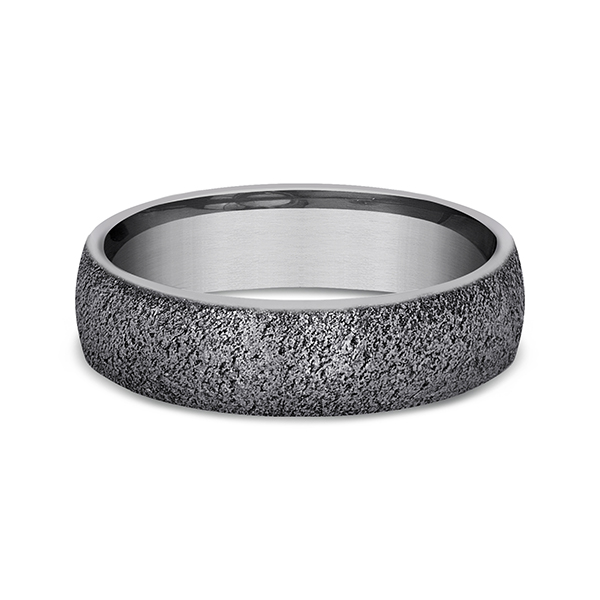 Alternative Metals - Tantalum Comfort-fit wedding band - image #3