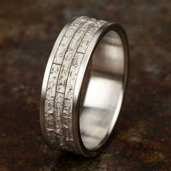 Wedding Bands - Comfort-Fit Design Wedding Band - image 4