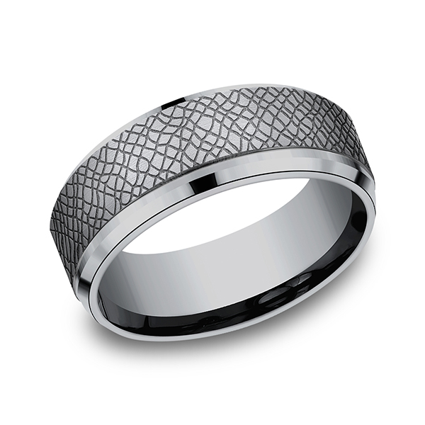 Tantalum Comfort-fit Design Ring by Tantalum