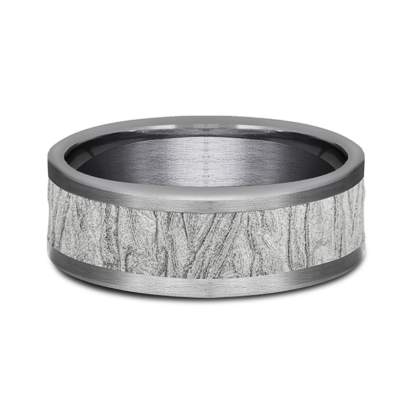 Rings - Ammara Stone Comfort-fit Design Wedding Band - image #3