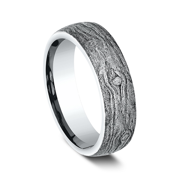Rings - Comfort-Fit Design Wedding Band - image #2