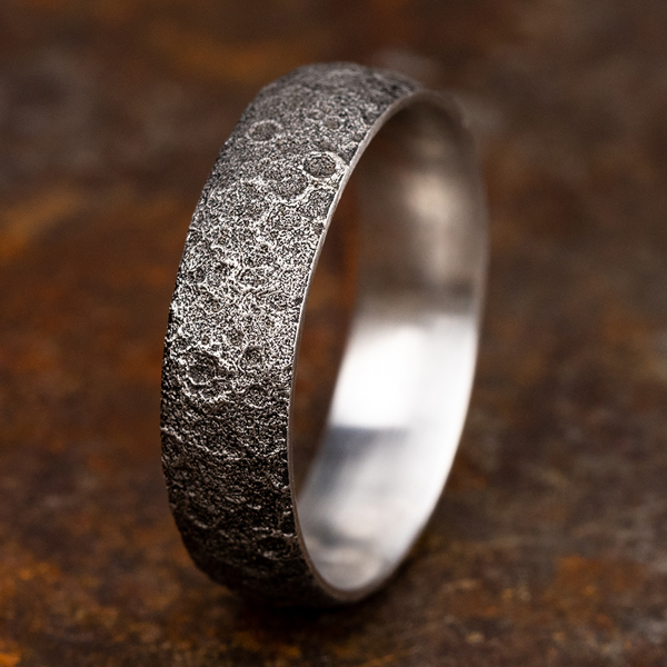 Comfort-Fit Design Wedding Band Image 4 Holly McHone Jewelers Astoria, OR