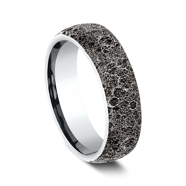 Comfort-Fit Design Wedding Band Image 2 Holly McHone Jewelers Astoria, OR
