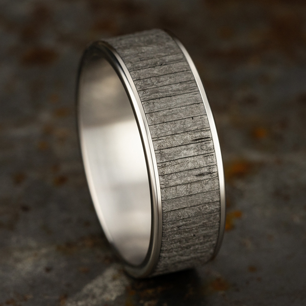 Wedding Bands - Ammara Stone Comfort-fit Design Wedding Band - image #4