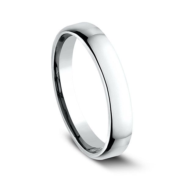 Men's Wedding Bands - European Comfort-Fit Ring - image #2