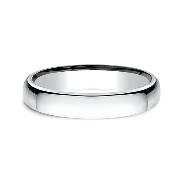 and comfort wedding with band slight p mm tungsten classic dome rings finish polished fit