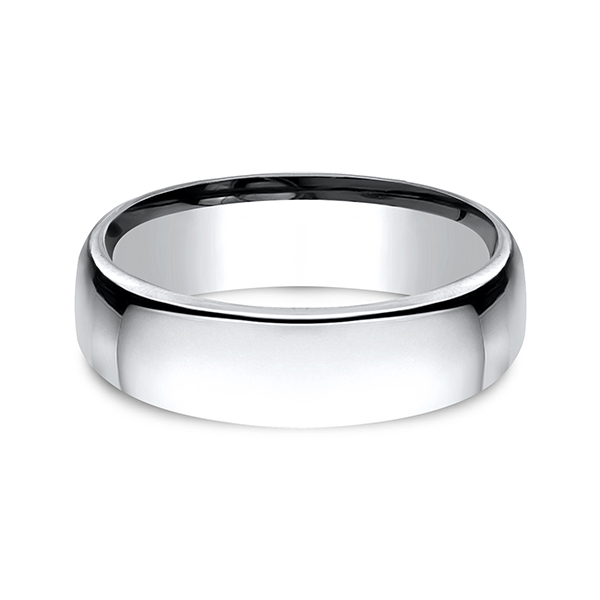 Wedding Bands - Cobalt European Comfort-Fit Design Ring - image #2