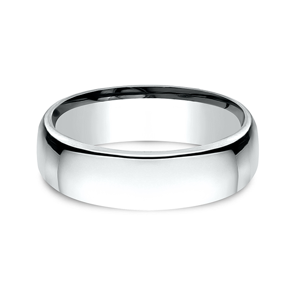 Wedding Bands - European Comfort-Fit Wedding Ring - image 3