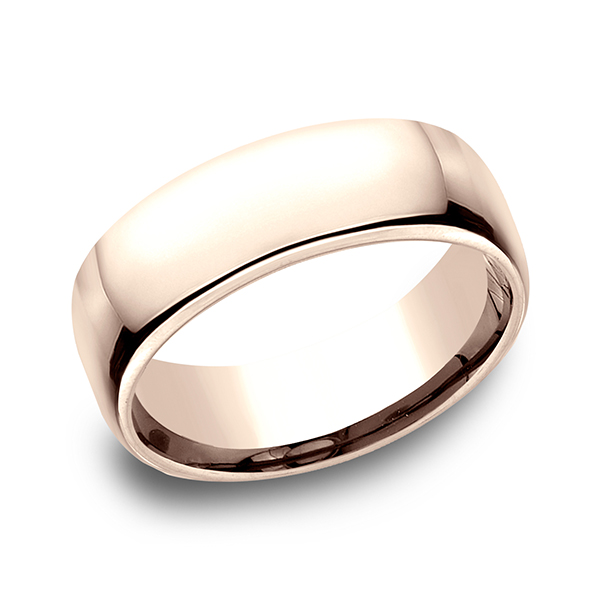 Gold - European Comfort-Fit Ring - image 3