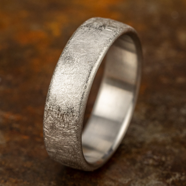 Comfort-Fit Design Wedding Band Image 4  ,