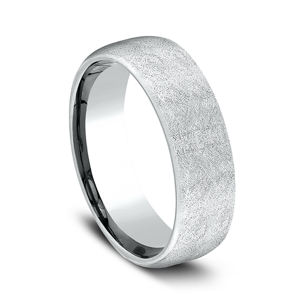 Men's Wedding Bands - Comfort-Fit Design Wedding Band - image #2