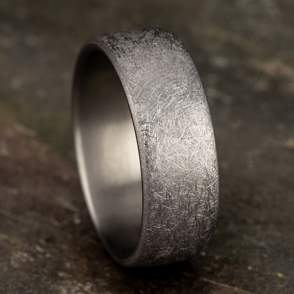 Wedding Bands - Tantalum Comfort-fit wedding band - image 4