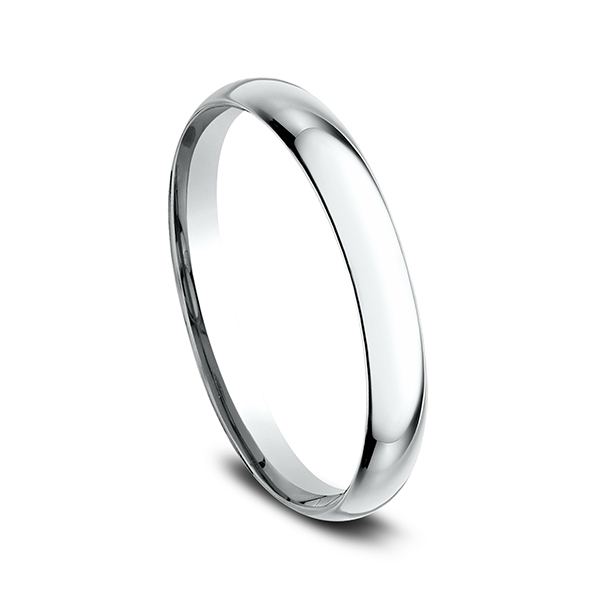 Men's Wedding Bands - Standard Comfort-Fit Ring - image #2