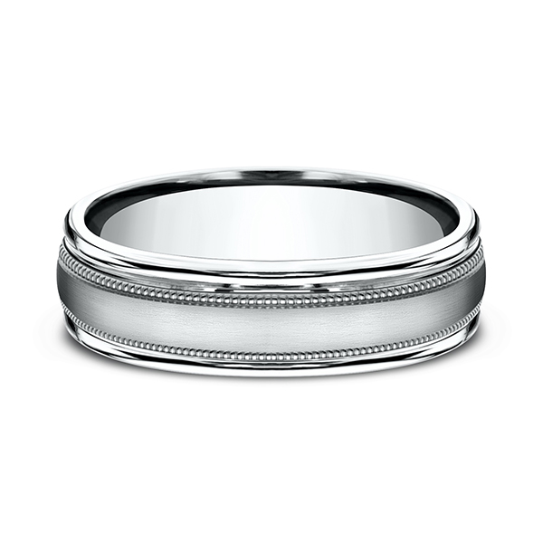 Men's Wedding Bands - Comfort-Fit Design Ring