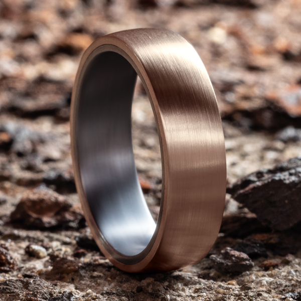 Wedding Bands - Ammara Stone Comfort-fit Design Wedding Ring - image #4