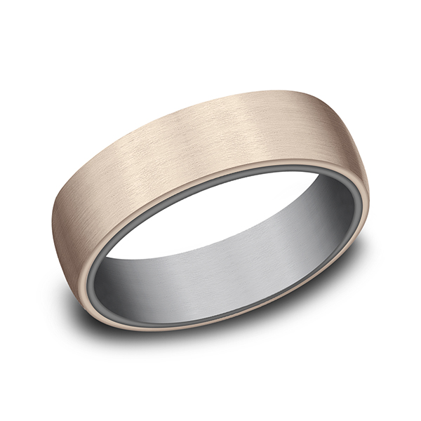 Wedding Bands - Ammara Stone Comfort-fit Design Wedding Ring