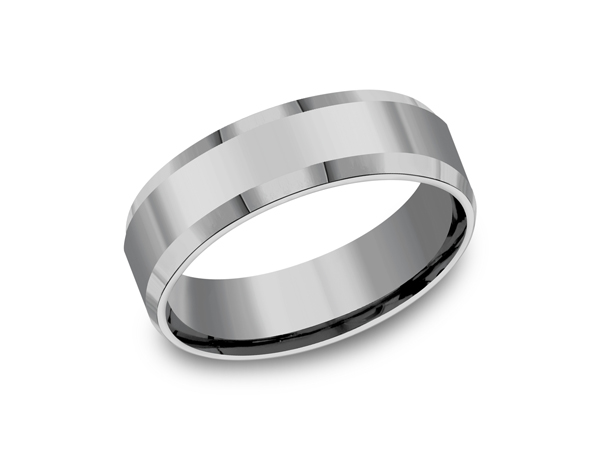 Mens Wedding Bands Tungsten.Tungsten Comfort Fit Design Wedding Band
