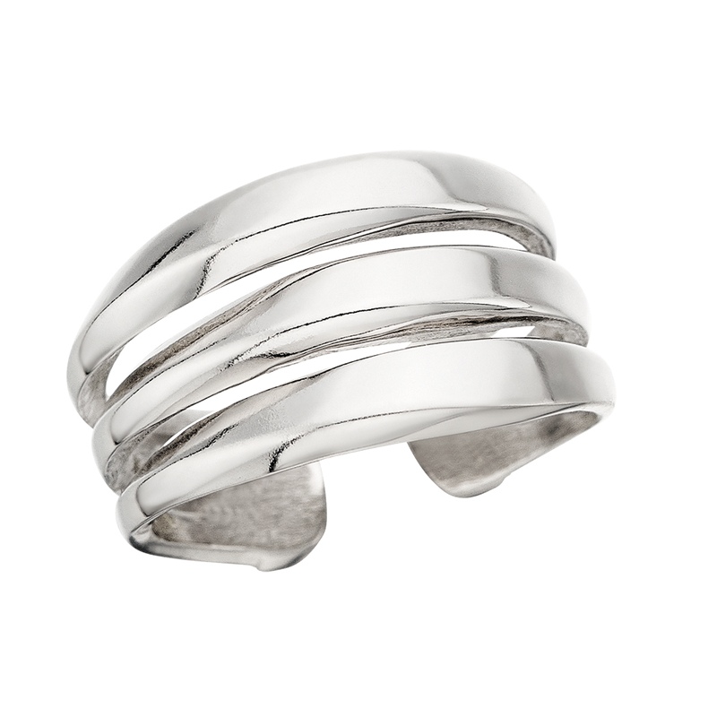 Grace Collection Silver Ring by Berco Jewelry Co.