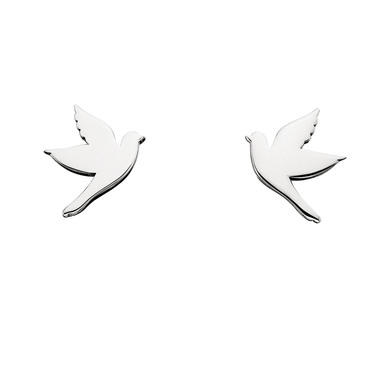 Grace Collection Silver Earrings by Berco Jewelry Co.