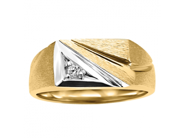 10k Yellow Gold Ring by Fire and Ice