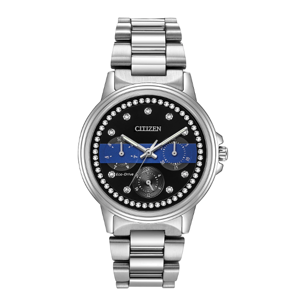 Women's Watches - Citizen Women's Thin Blue Line Watch