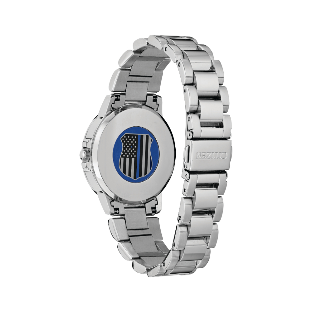 Women's Watches - Citizen Women's Thin Blue Line Watch - image #4
