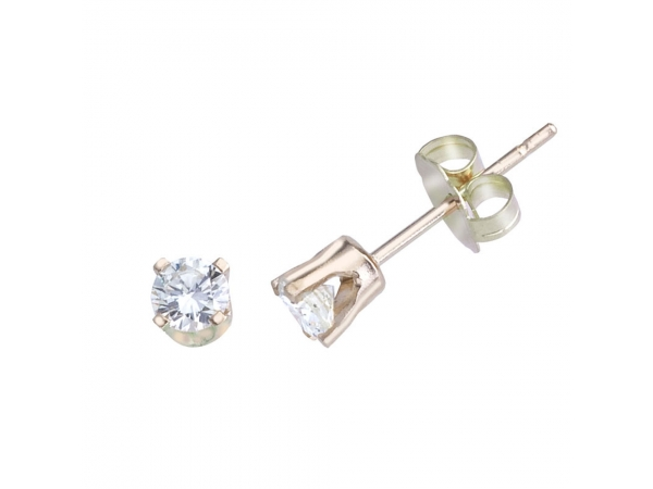 14k Yellow Gold 0.33 Ct Diamond Stud Earrings - Classic .33 total carat diamond stud earrings set in gorgeous 14k yellow gold. Perfect for any occasion.