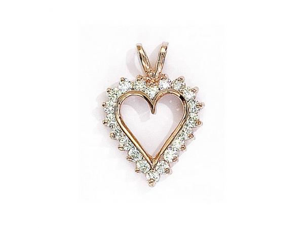 14k yellow gold diamond heart pendant rm387p pendants from 14k yellow gold diamond heart pendant rm387p pendants from goldrush jewelers marion oh aloadofball Images