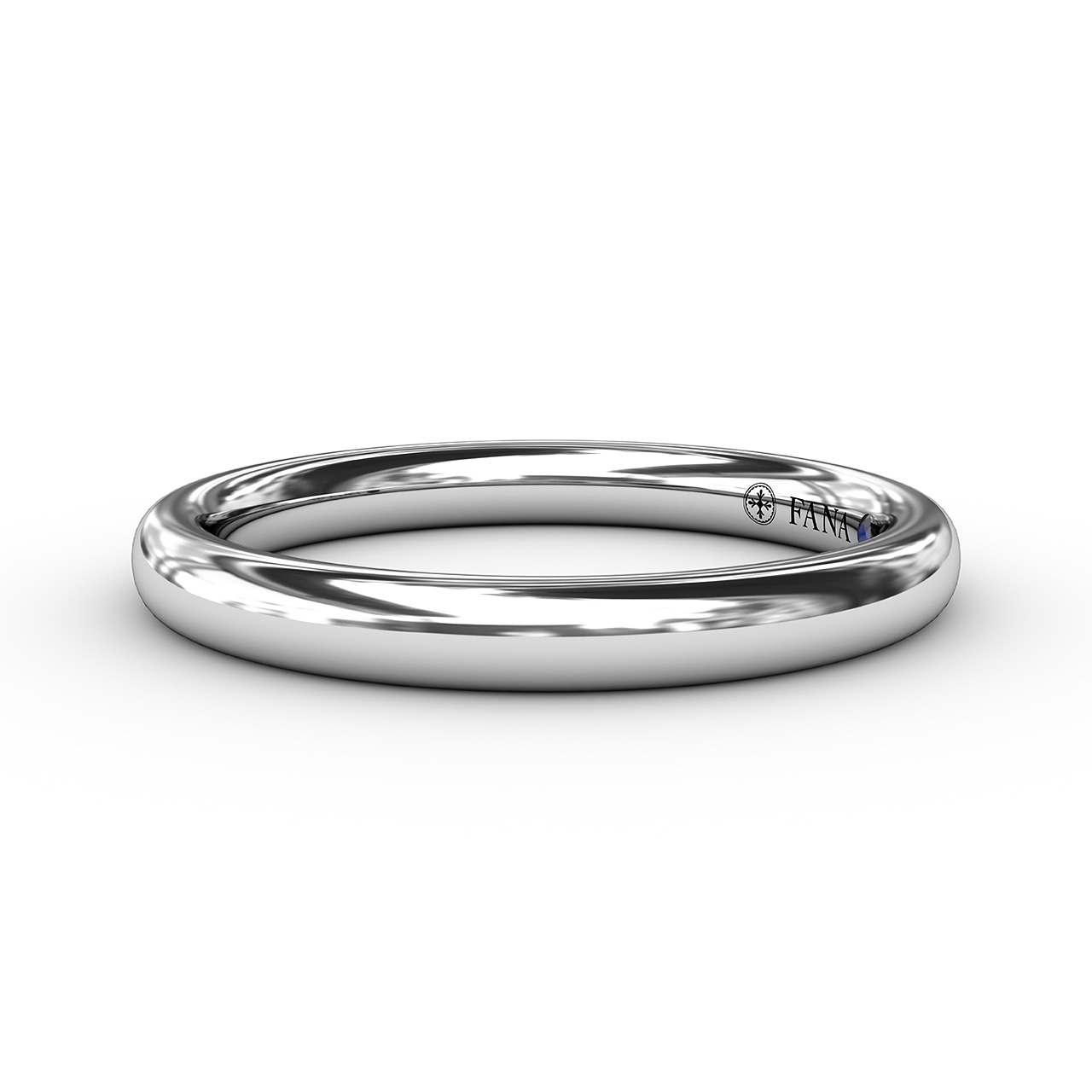 Anniversary Bands - Classic High Polished Anniversary Band
