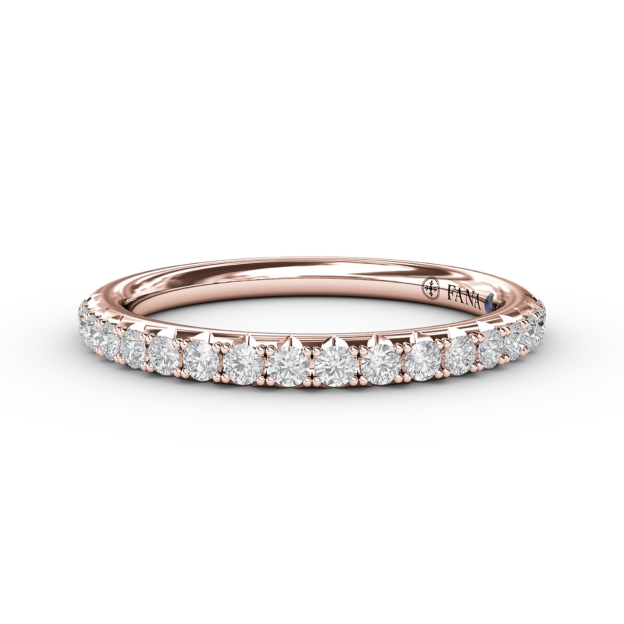 Anniversary Bands - Delicate Pave Diamond Anniversary Band