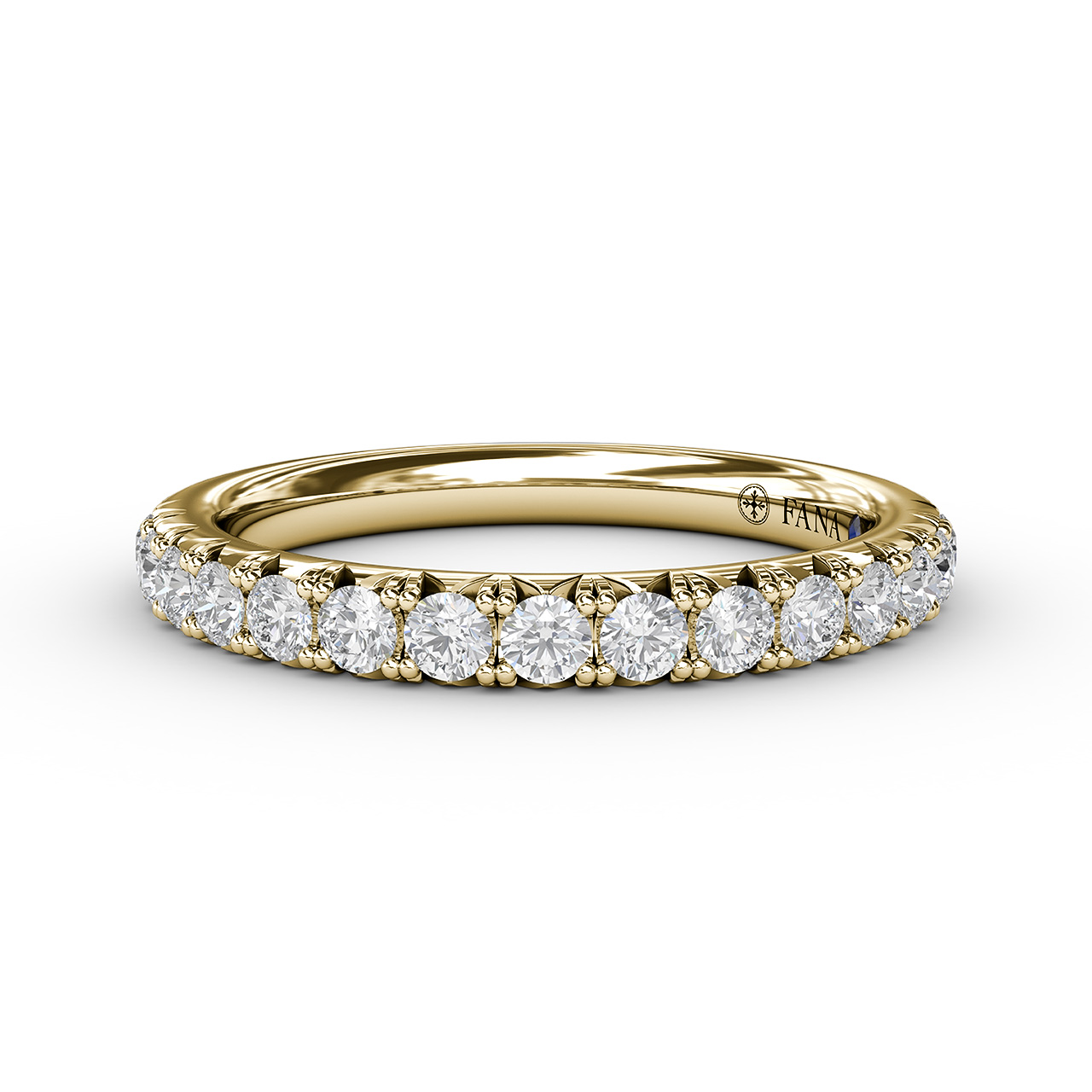 Anniversary Bands - 1/2ct French Pave Set Anniversary Band
