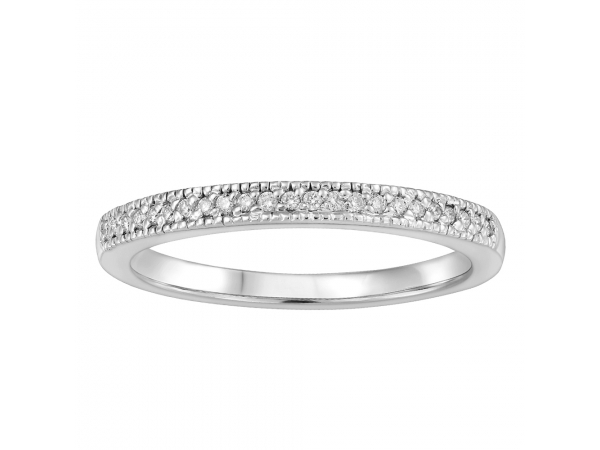 10K Yellow Gold Wedding Band by Forever Ice
