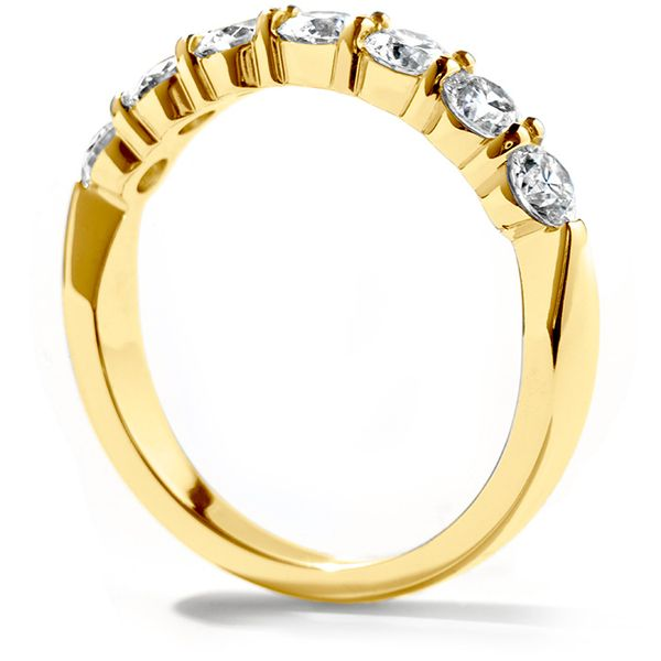 Anniversary Bands - 0.5 ctw. Seven-Stone Band in 18K Yellow Gold - image #2