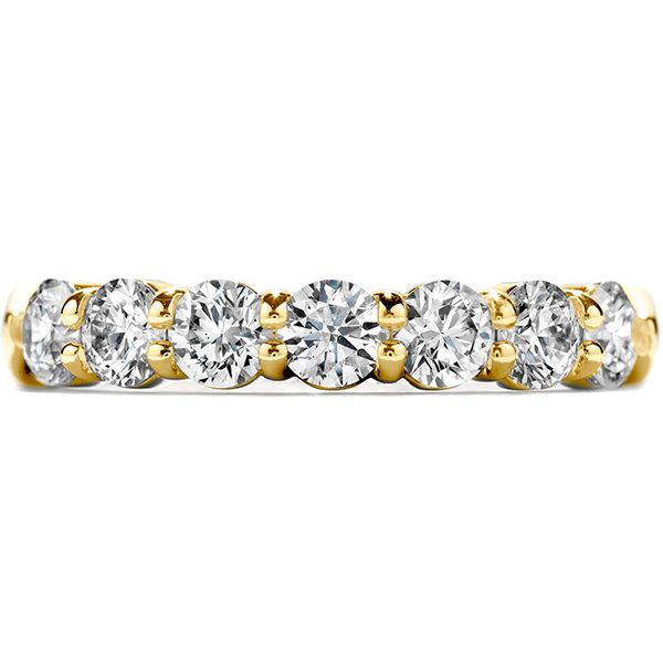 Anniversary Bands - 1.25 ctw. Seven-Stone Band in 18K Yellow Gold