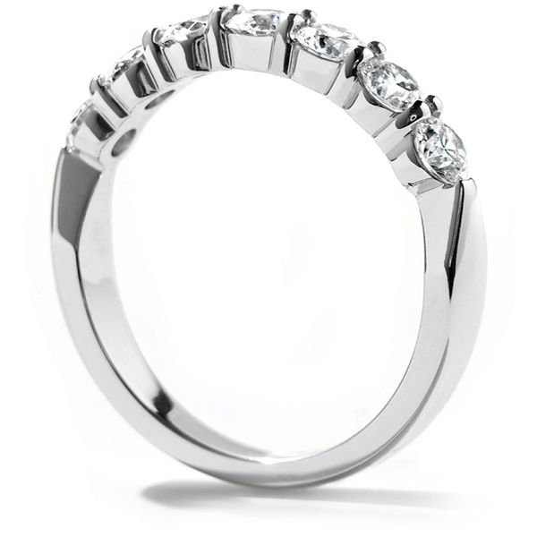 Anniversary Bands - 1.75 ctw. Seven-Stone Band in 18K White Gold - image #2