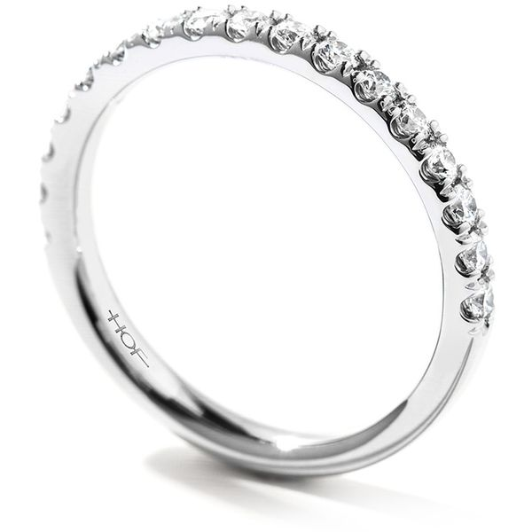 Anniversary Bands - 0.4 ctw. Acclaim Band in 18K White Gold - image #2