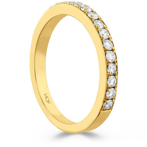 Anniversary Bands - 0.35 ctw. Beloved Band to match Open Gallery in 18K Yellow Gold - image #2