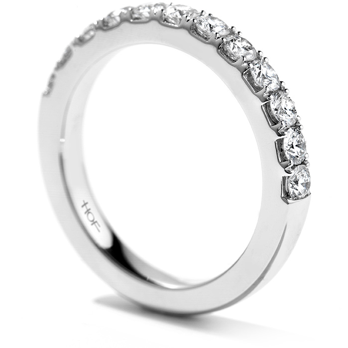 Anniversary Bands - 0.4 ctw. Beloved Wedding Band in 18K White Gold - image #2