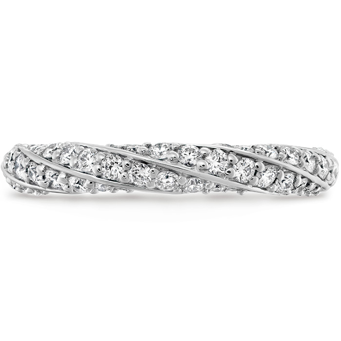 Anniversary Bands - 0.5 ctw. Atlantico Pave Band in Platinum