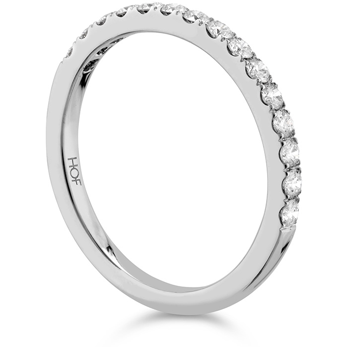 Anniversary Bands - 0.35 ctw. Destiny Diamond Band in 18K White Gold - image #2