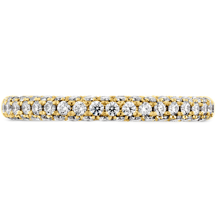 Anniversary Bands - 0.45 ctw. Euphoria Pave Band in 18K Yellow Gold