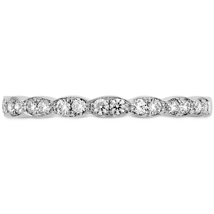 Anniversary Bands - 0.2 ctw. Lorelei Floral Diamond Band in Platinum