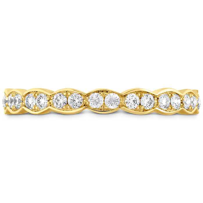 Anniversary Bands - 0.5 ctw. Lorelei Floral Eternity Band in 18K Yellow Gold