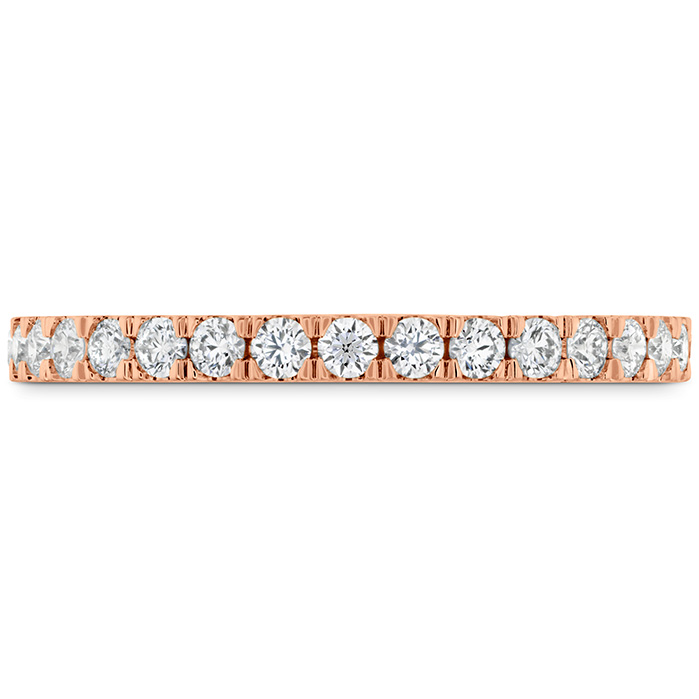 Women's Wedding Bands - 0.55 ctw. HOF Hexagonal Diamond Band in 18K Rose Gold