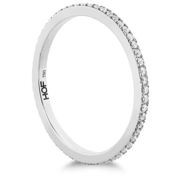 Women's Wedding Bands - 0.22 ctw. HOF Classic Eternity Band in 18K White Gold - image #2