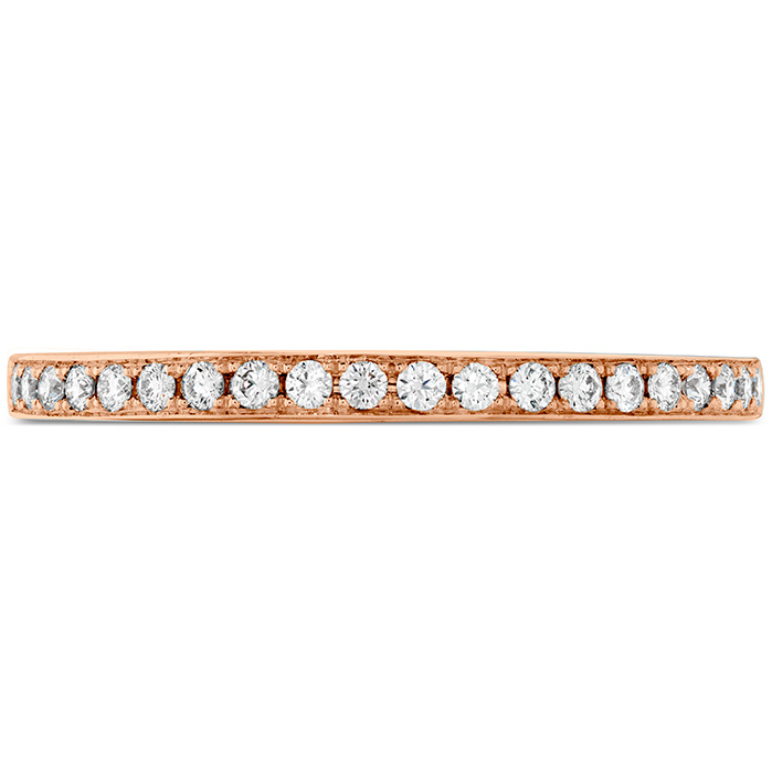 Anniversary Bands - 0.15 ctw. Illustrious Diamond Band in 18K Rose Gold